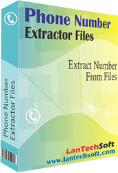 Files Phone Number Extractor full screenshot