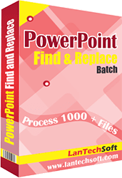 Windows 7 PowerPoint Search and Replace Tool 4.6.1.22 full