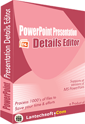 PowerPoint Document Properties Editor