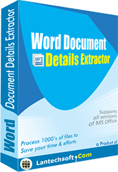 Word Document Properties Extractor