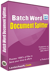 Batch Word Files Splitter