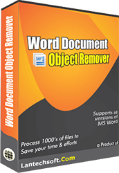 Word Document Object & Image Remover