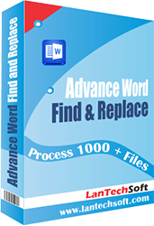 how to search and replace in word