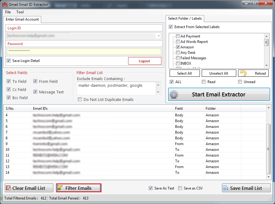 how to delete mail id from gmail