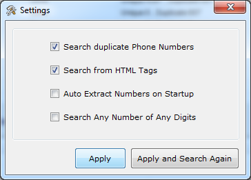 Outlook Phone Number Extractor