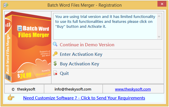 Batch Word Files Merger